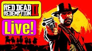 RED DEAD REDEMPTION 2 XBOX ONE X LIVE! I love this Game! RDR2 XBOX ONE X 4K GAMEPLAY