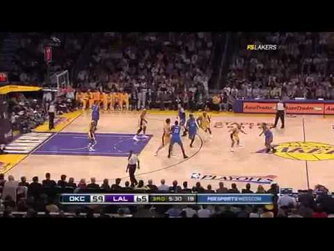 2010 NBA Playoffs - Lakers vs Thunder Game 2