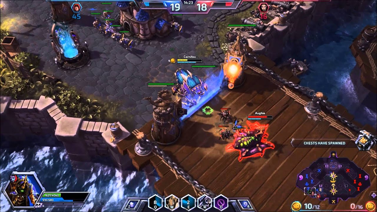 Heroes Of The Storm Anubarak Gameplay Episode One