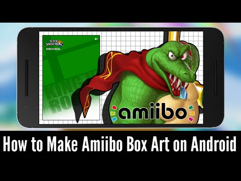 How to Make Amiibo Box Art on Android