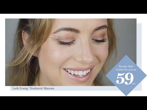 IsaDora Easy Makeup Tutorial: Lash Energy Treatment Mascara In 59 Seconds.
