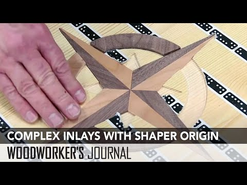 Cutting Complex Inlays with Shaper Origin Router