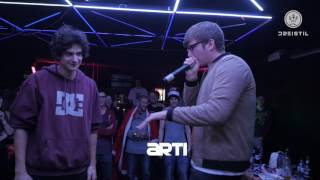 Dreistil.TV * Beatbox Battle * Finale * 22.12.2016 (Arti vs Georgy)