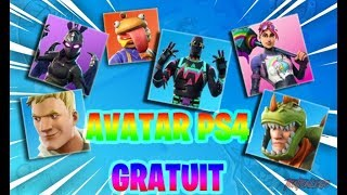 OBTENIR THE AVARTAR FORTNITE FREE PS4
