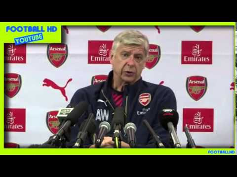 [HD] Arsene Wenger Pre-match Press conference / Crystal Palace v Arsenal