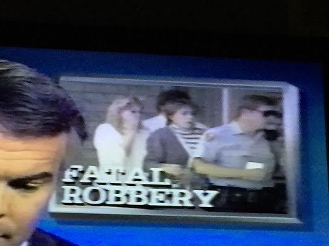 News Footage of 1988 Bank Robbery and Murder