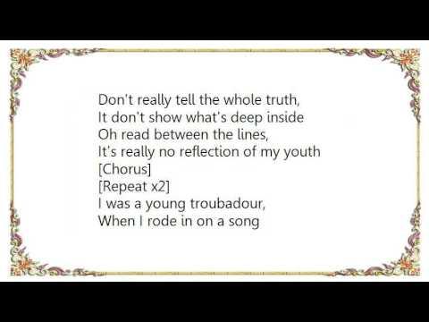 George Strait - Troubadour Lyrics