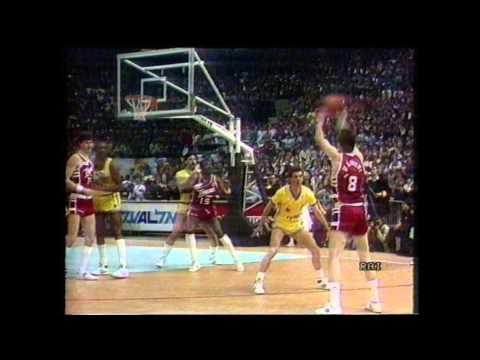 Tracer Milano vs Maccabi Tel Aviv 1987