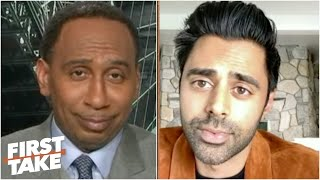 Hasan Minhaj reacts to the debut of The Last Dance & stuns Stephen A. with an NBA take | First Take