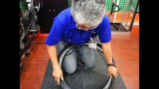 新進気鋭のスペシャルウイール SAKURAのタイヤ装着の簡易度を コンチGP...