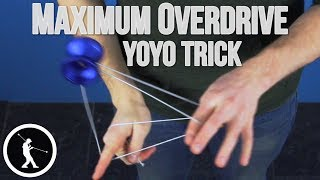 Learn the Maximum Overdrive 1A Combo Yoyo Trick