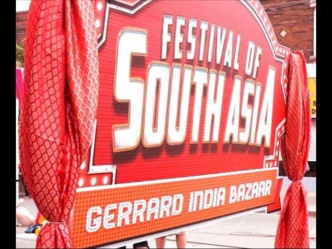 Festival of South Asia 2017 - Gerrard India Bazaar