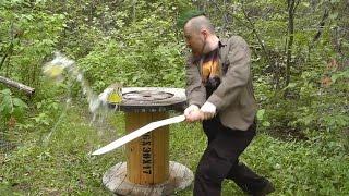 Fun sword cutting with Greg (puntastic!)