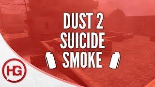 CS:GO Nade Spots - Dust 2, Suicide Smoke