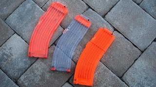 [REVIEW] Worker Banana Magazines Unboxing & Review - Aftermarket Nerf Mags!