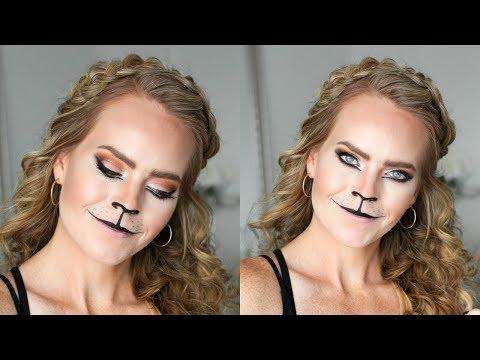 Lioness Halloween Makeup | Missy Sue