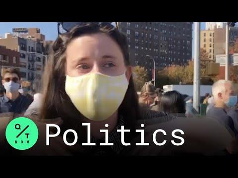 New York City Crowds Celebrate Biden Win: 'It's a Huge Release'