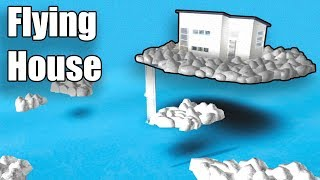 Flying Sky House • Roblox: Bloxburg • 117K