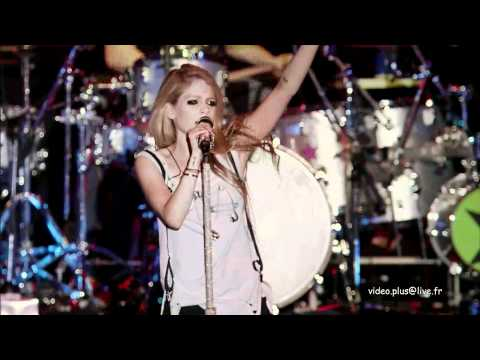Avril Lavigne - Best live japan 2011 (7mn47s)
