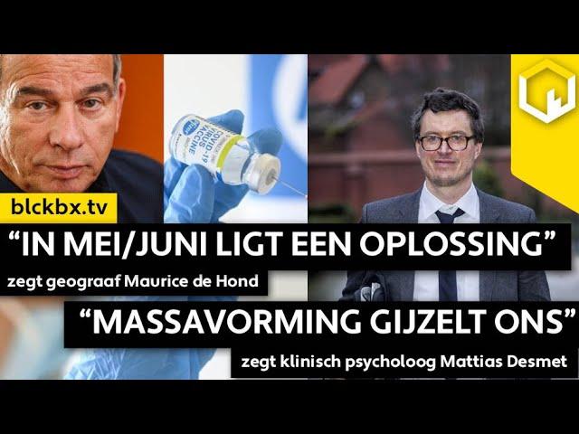"""Massavorming gijzelt ons"", zegt psycholoog Mattias Desmet!"