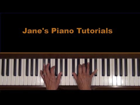 Supertramp Logical Song Piano Accompaniment Tutorial SLOW