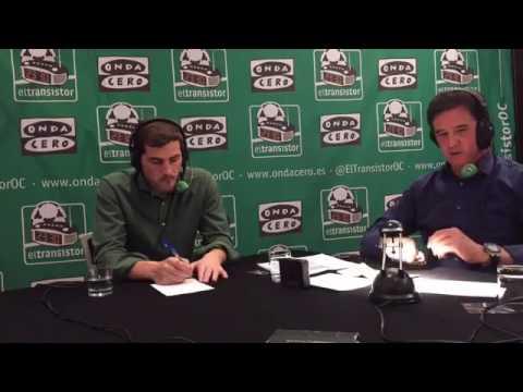 Entrevista a Iker Casillas en El Transistor de Onda Cero con Jose Ramon de la Morena - 31/01/2017