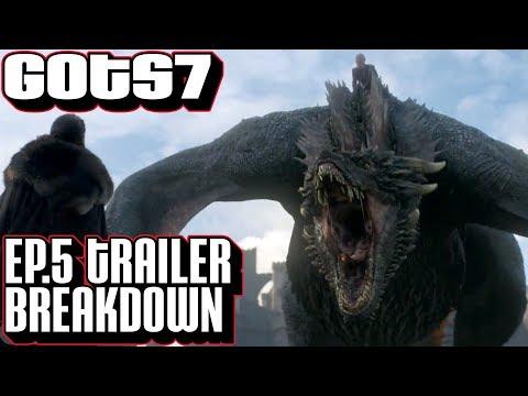 [Game of Thrones Season 7 Episode 5 Trailer Breakdown | Ep 5 Teaser Frame by Frame