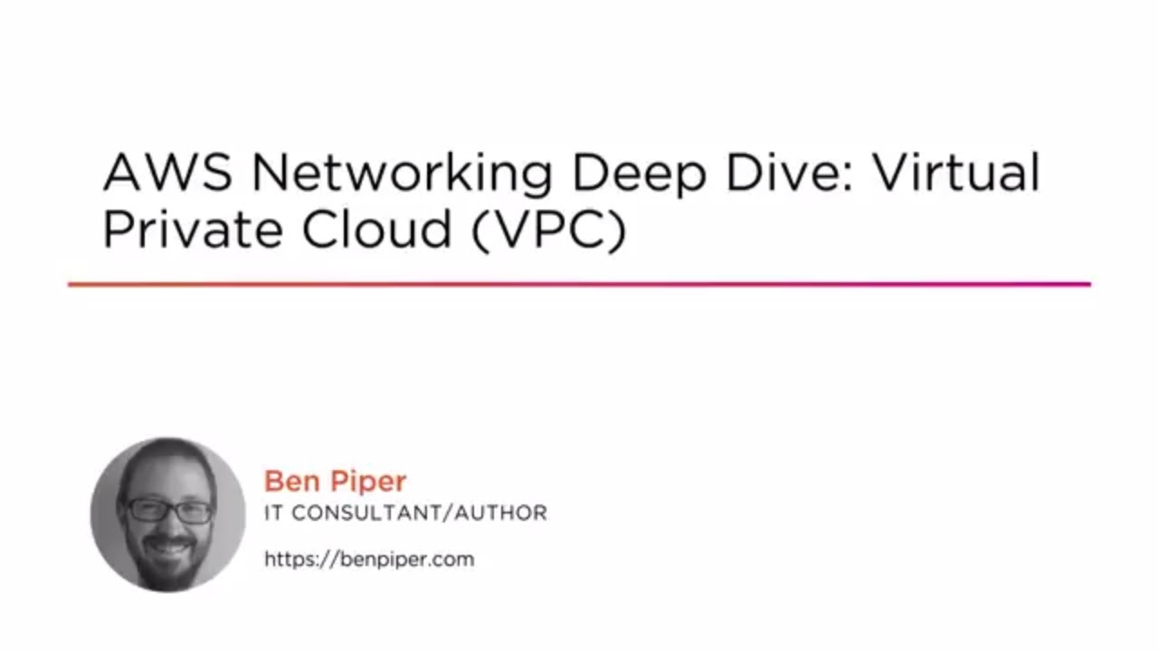 AWS Networking: Virtual Private Cloud (VPC) | Pluralsight