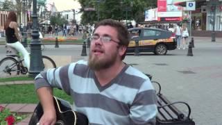 """Кавер песни """"Закат"""" (Ария) поет Паша Ветер!!! SUNSET!"""
