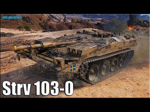 Охотник на крупную дичь ПТ-12 ✅ World of Tanks лучший бой Strv 103 0