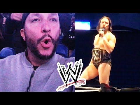 WWE WRESTLER TELLS ME TO SHUT UP!!
