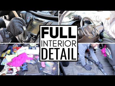 Cleaning The Dirtiest Car Interior Ever || Car Detailing