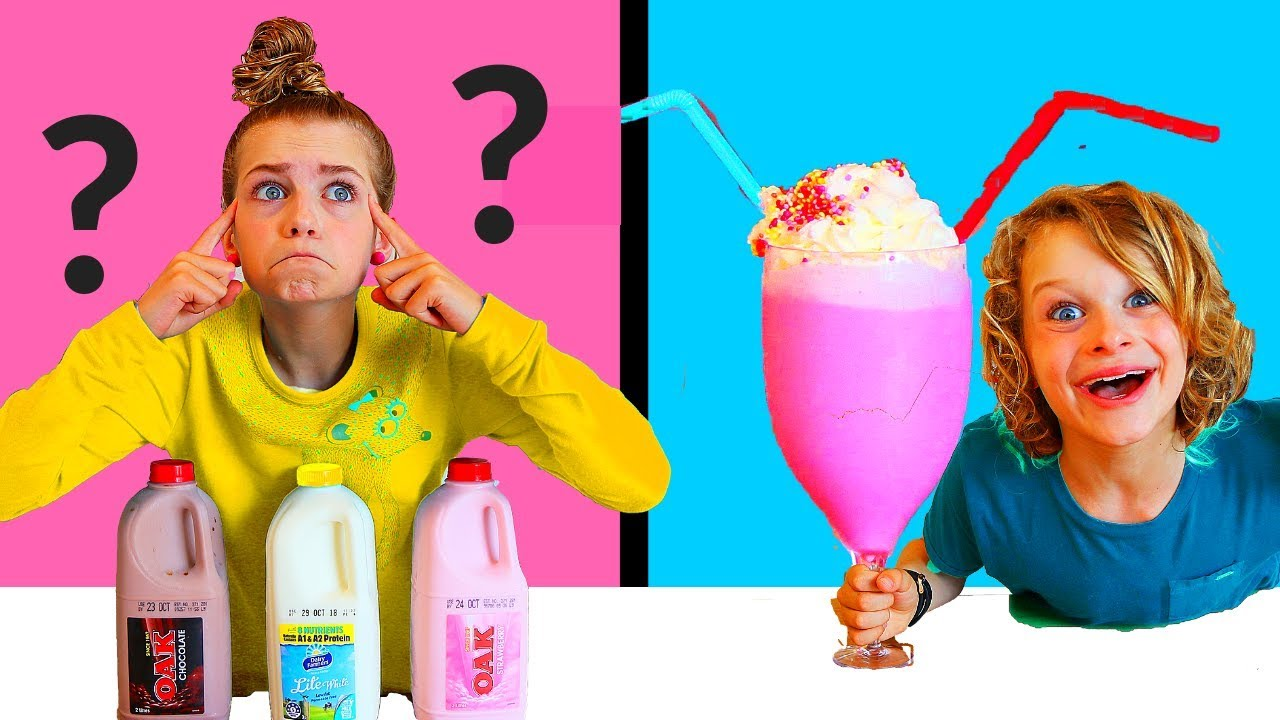 Twin Telepathy Milkshake Challenge The Greatest Ever