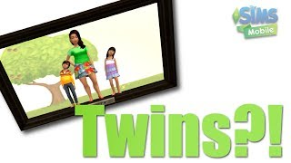 "How to Have ""Twins"" in the Sims Mobile Game - Miracle and Johnny Brunner"