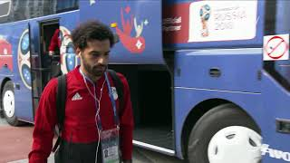 EGYPT ARRIVE - MATCH 2 @ 2018 FIFA World Cup™