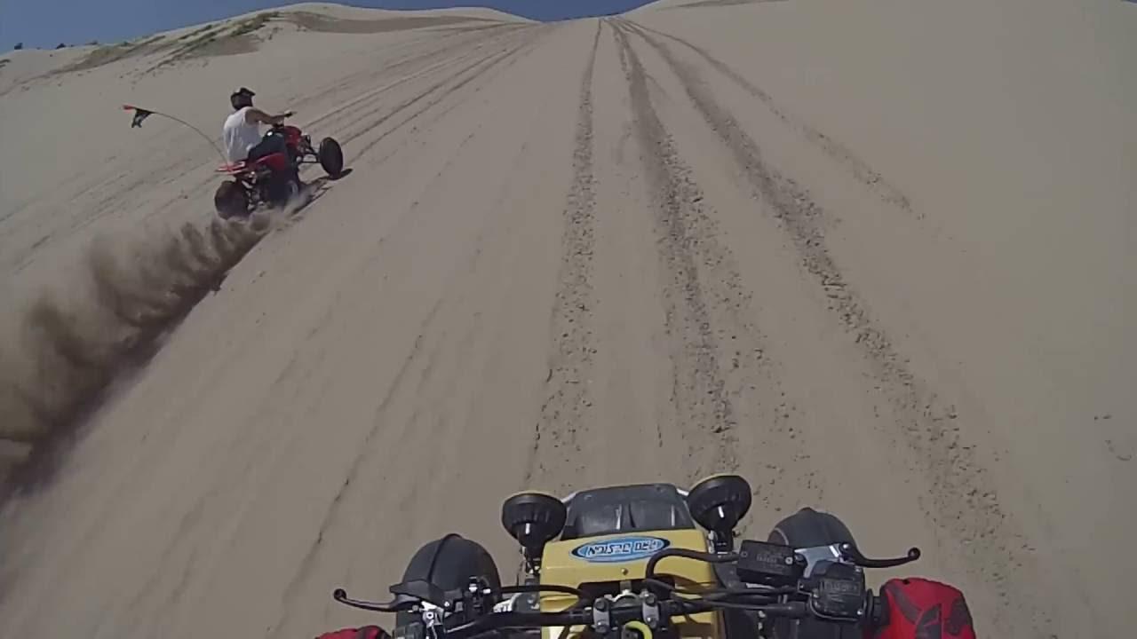 TRX450R vs YFZ350 banshee sand dunes utah