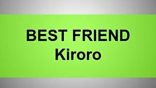 Cover images best friend kiroro lyrics