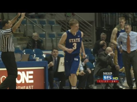 Nate Wolters of South Dakota State scores 53 points in men's college basketball game against IPFW in