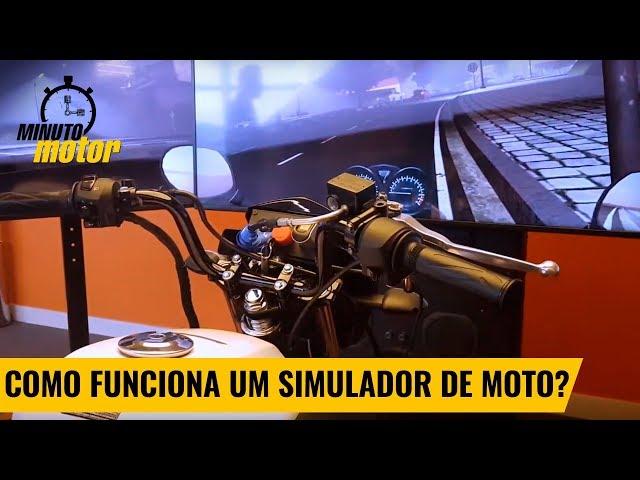 Veja como funciona um simulador de moto | MinutoMotor