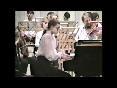 Anna Shelest - 12 Years Old - Rachmaninoff Concerto No.1 (1/2)
