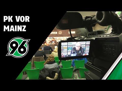 PK vor Mainz   Hannover 96 - 1. FSV Mainz 05