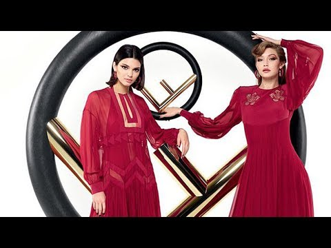 Kendall Jenner & Gigi Hadid are SLAYING in New Fendi Campaign