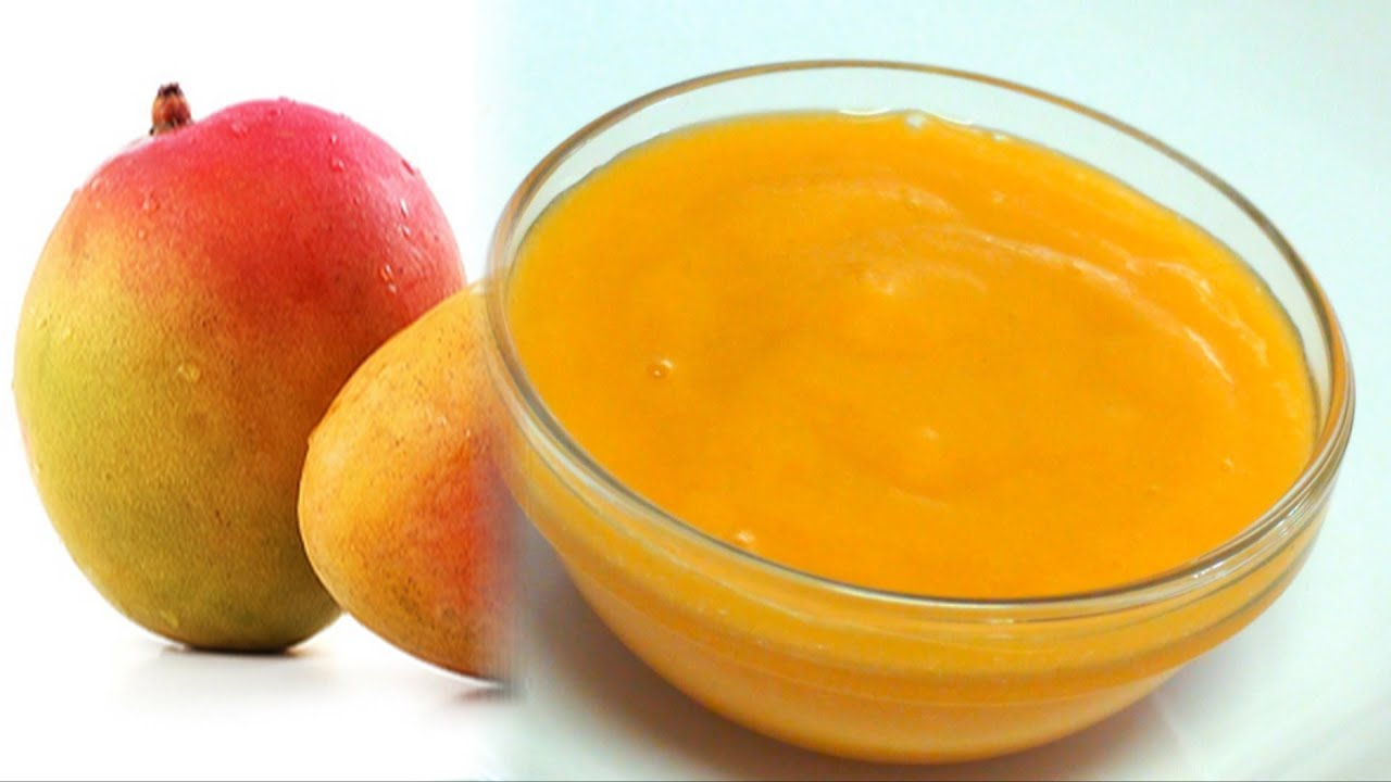 How to pulp Mango - Aamras video recipe - Basics - YouTube