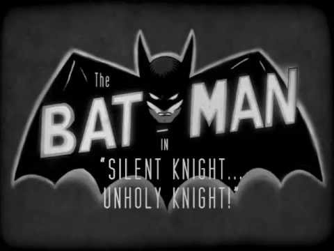 "Batman: Black and White - ""Silent Knight... Unholy Knight!"""
