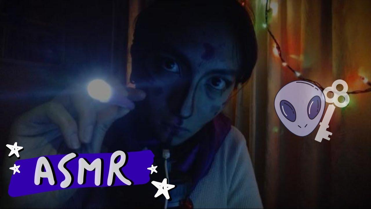 ASMR RECEPCIONISTA DE HOTEL EXTRAT3RRESTR3 | susurros, roleplay