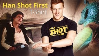 Star Wars: Han Shot First-Shirt