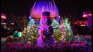 Epcot Live Stream - Christmas & Holiday Fun - 12-15-17 - Walt Disney World thumbnail