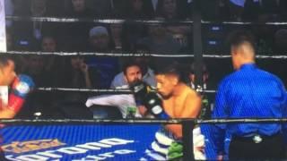 ボクシング ホルヘ・ララVSフェルナンド・モンティエル