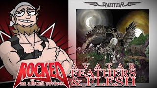 Rocked: Album Review: Avatar – Feathers & Flesh