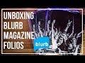 UNBOXING BLURB MAGAZINE FOLIOS | LUCINDA GOODWIN PHOTOGRAPHY